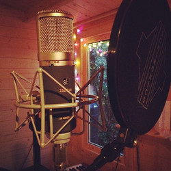 Finishing touches to the New C.D in the studio this week! Quite excited,, let's hope someone listens