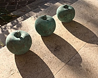 pommes bronze La villa hortus