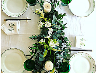 La villa hortus lance une nouvelle rubrique  déco & design dédiée à l'Art de la table