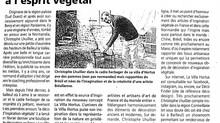 Presse : La villa hortus, une boutique en ligne à l'esprit végétal  -  Le Pays d'Auge  3/4/2