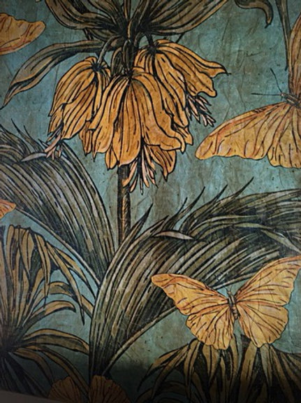 fleurs vintage La villa hortus