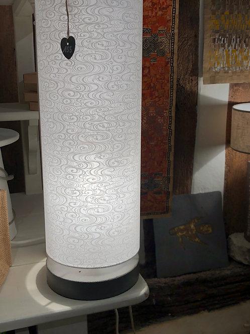 Lampe papier Givre