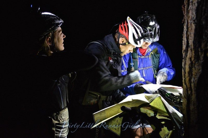 Brent and Dusty rocking some nightime nav.