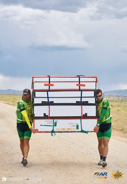 Ok, you can carry our bike boxes just this once if you really want to...