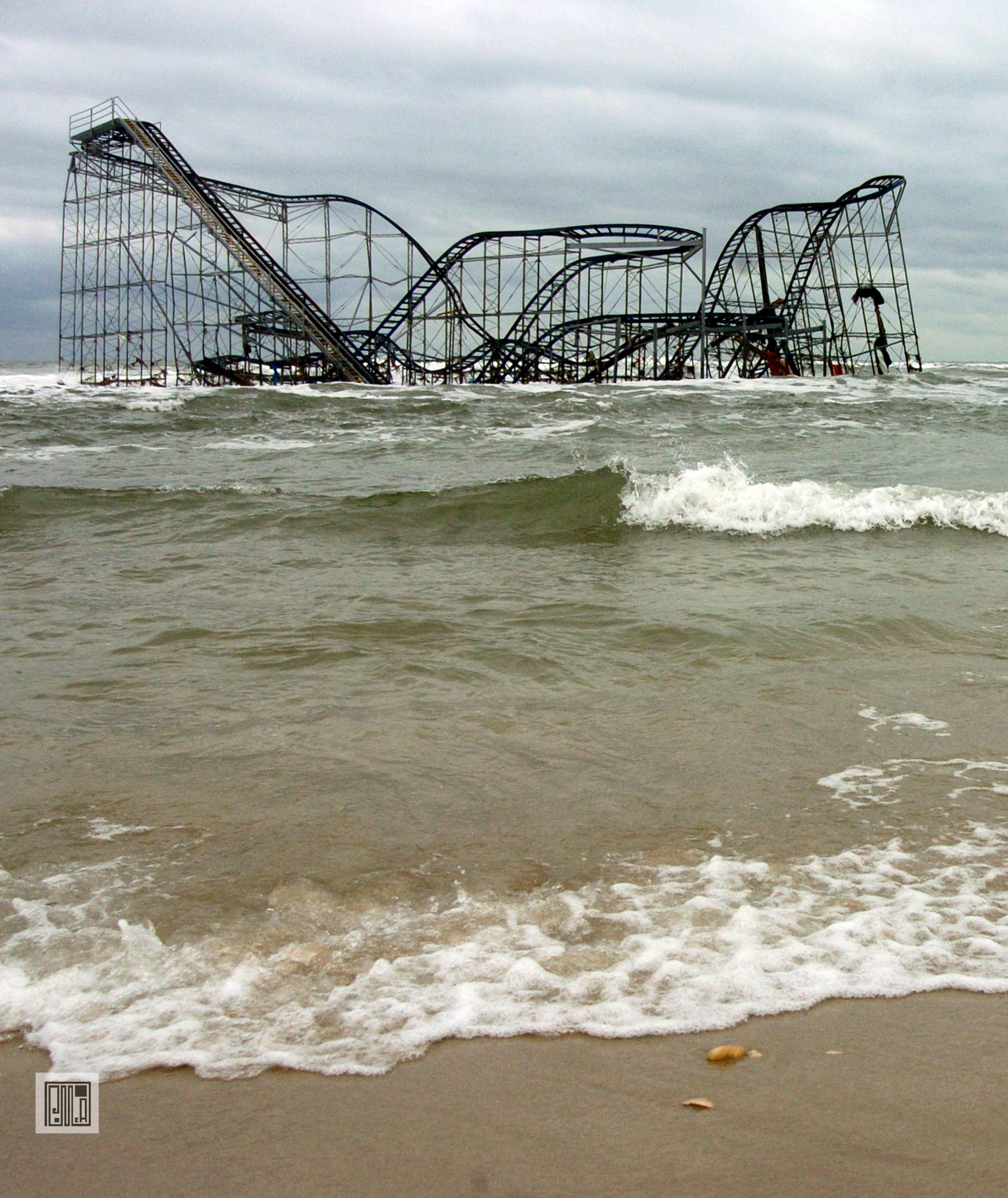 Seaside rollercoaster