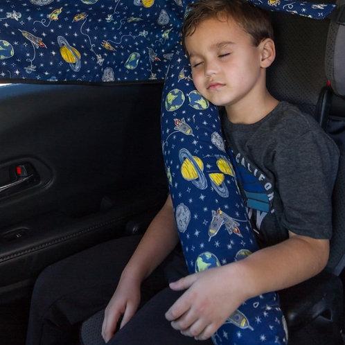 Almofada de viagem para cinto de segurança
