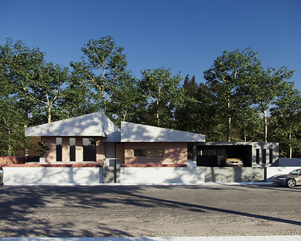 House, Visualização 3d, Imagem 3d, Render, Casa