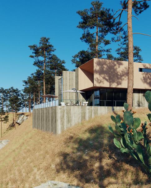 CGI   Beach House
