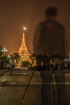 Photographing The Super Blue Blood Moon Eclipse Over Shwedagon