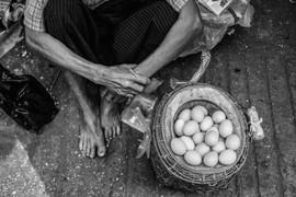 Hledan Egg Seller