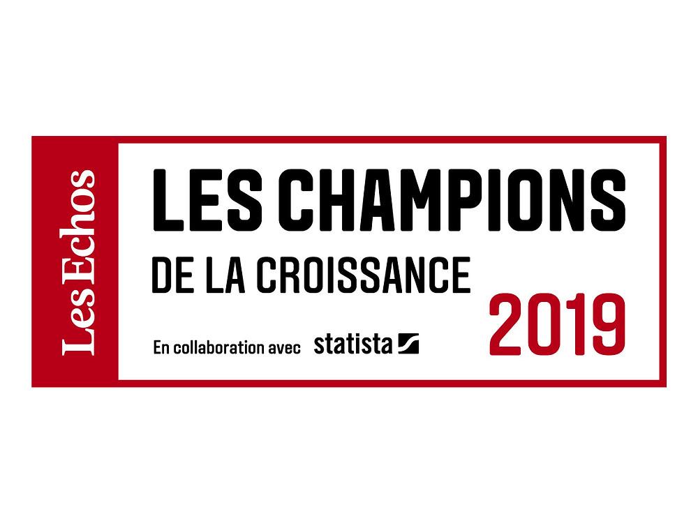 Les Echos_logo Les Champions de la Croissance 2019