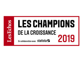 Nanomakers was elected one of the Growing Champions in 2019 by Les Echos