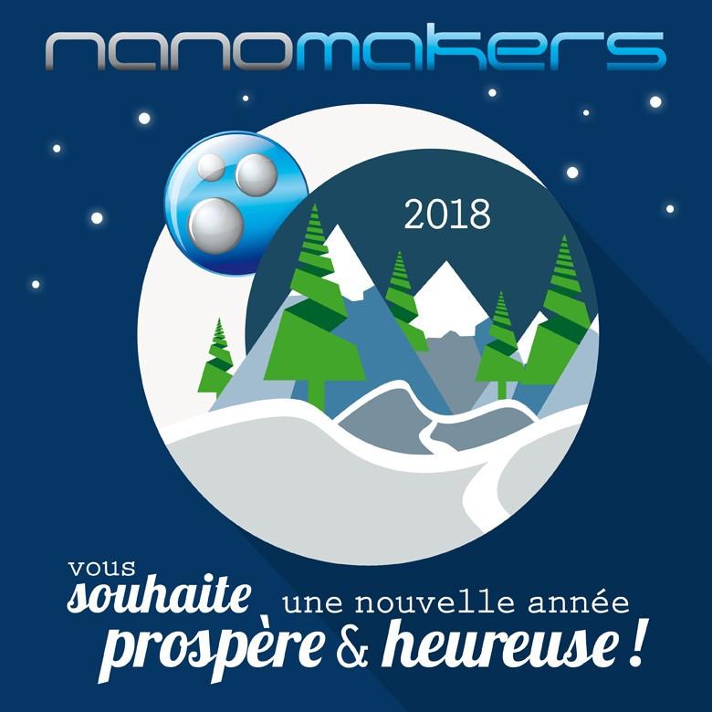 Voeux de Nanomakers pour 2018