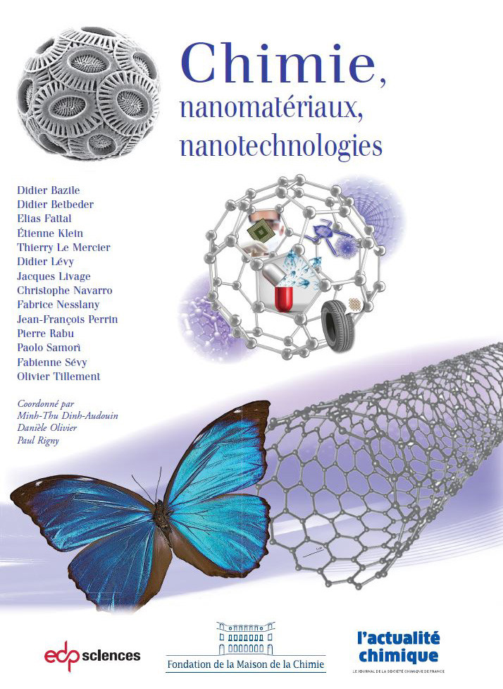 """Livre """"Chimie, nanomatériaux, nanotechnologies""""_Actualité Chimique"""