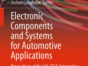 "Nanomakers a publié un article dans le livre ""Electronic Components and Systems for Automotive"