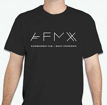t-shirt black white logo