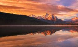 Stanley Lake Sunrise, ID