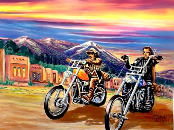 Easy Rider 36x48 - starting bid $1200