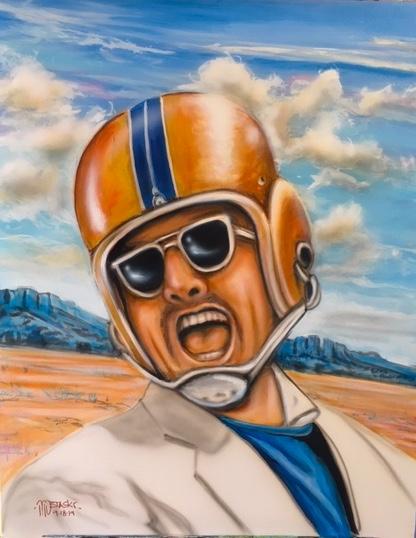 Jack Nicholson 24x30 - starting bid $500
