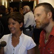 Sibylle Szaggars-Redford and David Thor Johnson