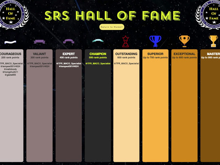 Checkout the new Hall of Fame