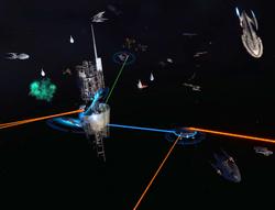 Starbase fleet defence