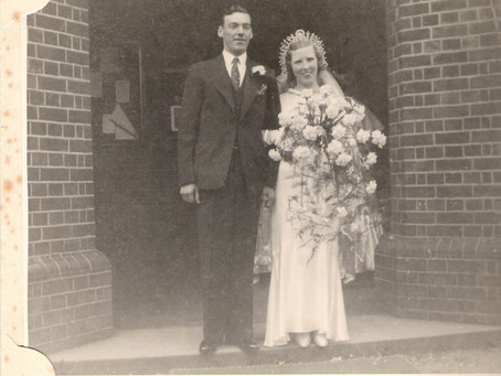 The Earliest Wedding at St Marys