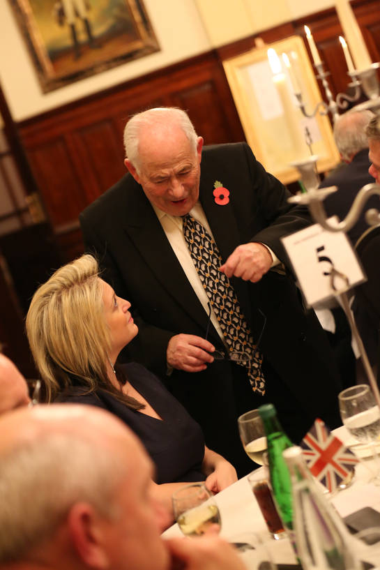 Lord Monroe Palmer with Mrs Rachael Davis-Stollar.