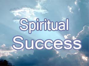 The joy of spiritual success