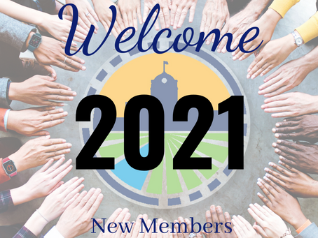 Welcome New Members - 2021