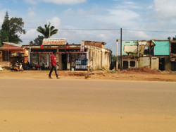 Entebbe road constructions