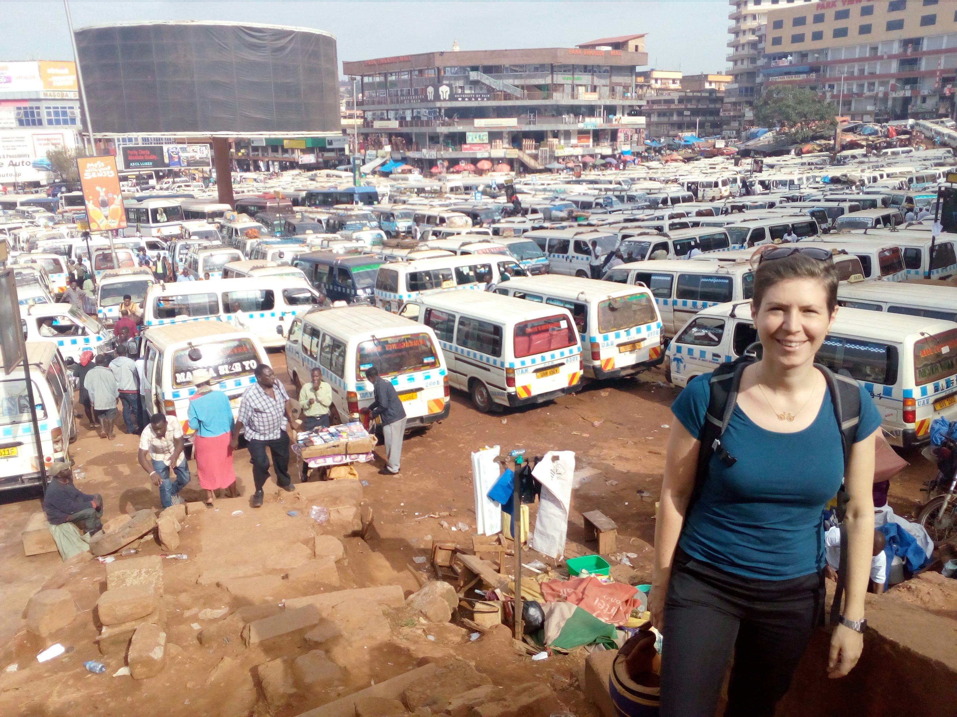 Old taxi park, Kampala