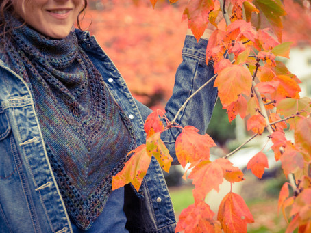 The Friea Shawl is LIVE