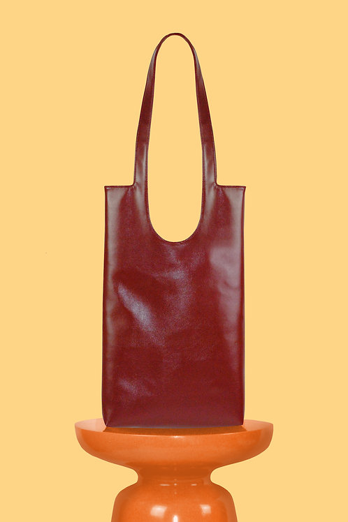 Dolores Square Tote in Red