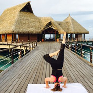 Headstands At The Conrad