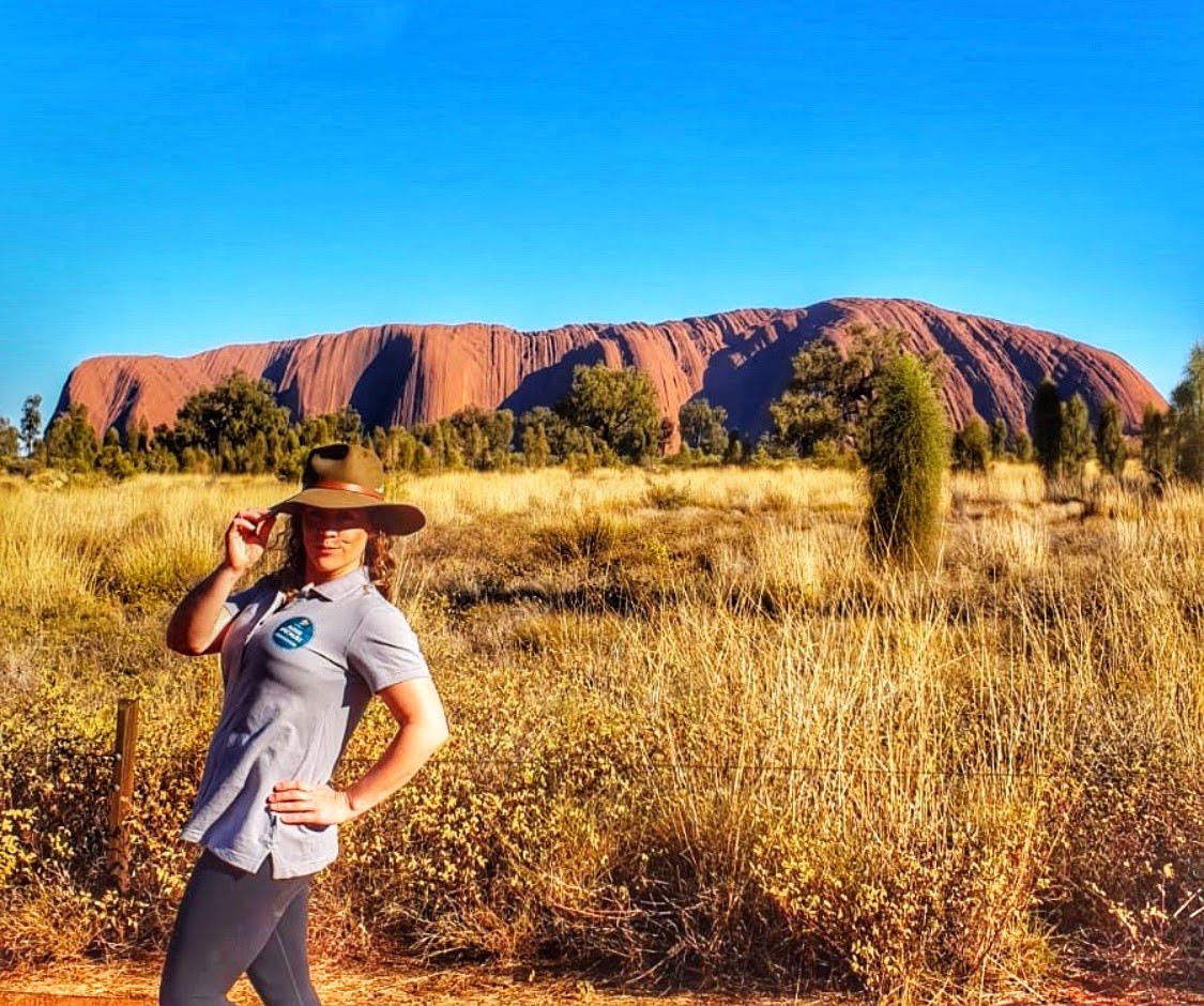 Uluru And Your Aussie Ambassador.JPG