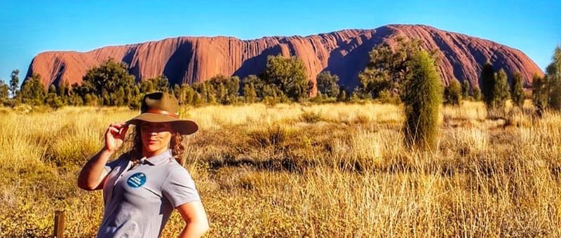 Uluru And Your Aussie Ambassador.JPG
