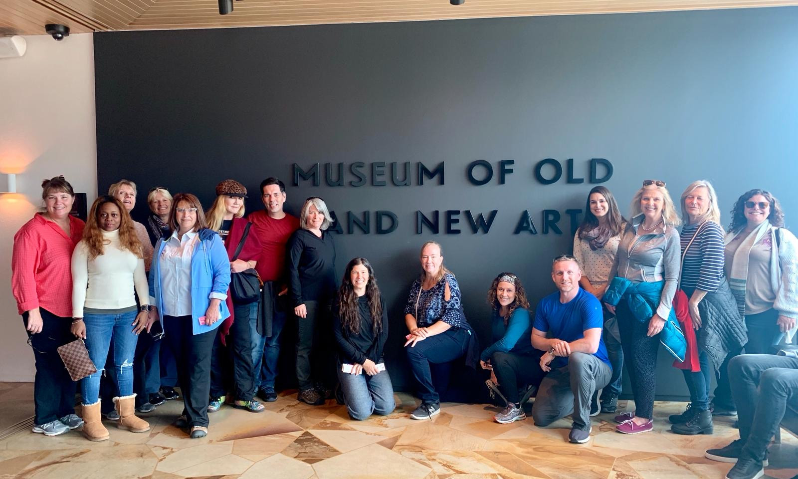 Tasmania Group At The MONA.JPG