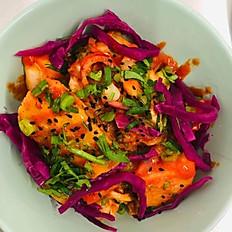 Homemade Kimchi Potato Salad