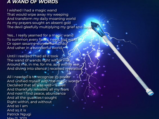 A Wand of Words