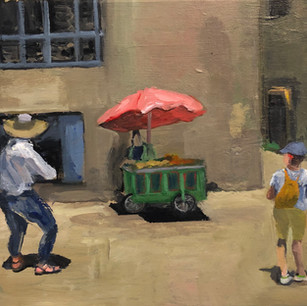 Pushcart in Jerusalem