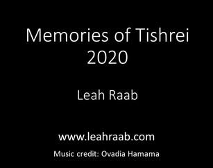 Memories of Tishrei