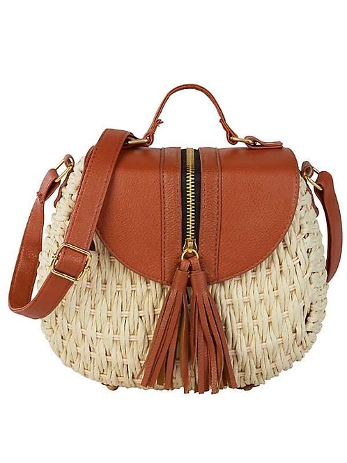Satchel Bag Con Cierre