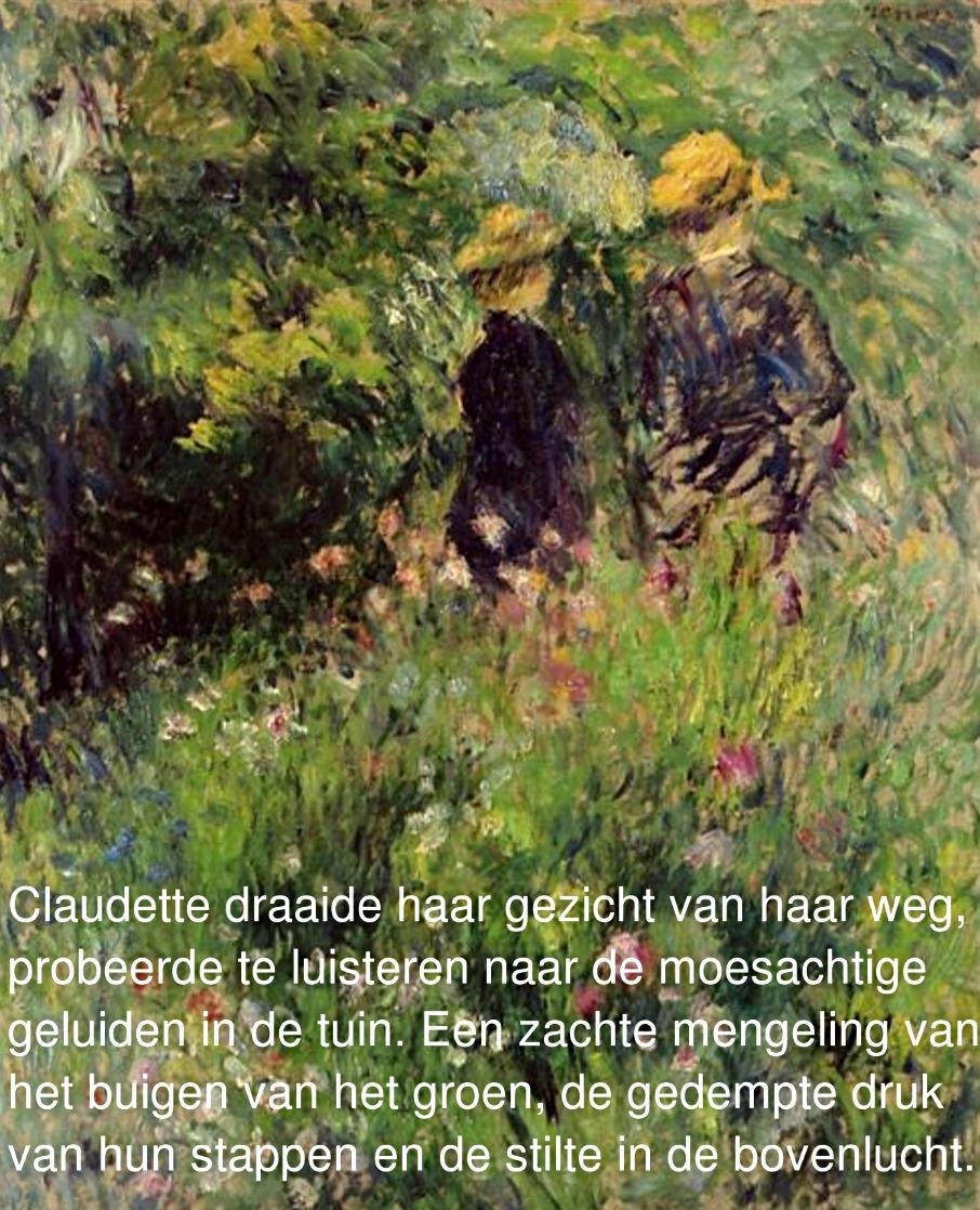 Sylvie en Claudette