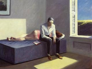 Sunday mornin' comin' down. Hopper, Crewdson, eenzaamheid.