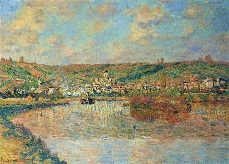 Monet Late afternoon in Vetheuil
