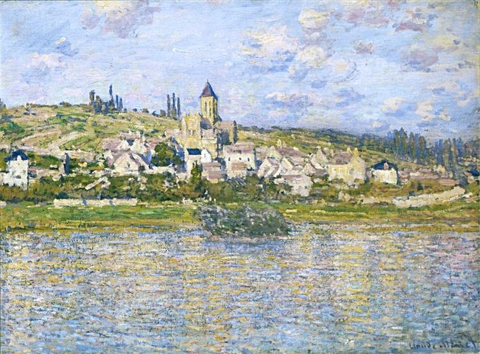 Monet vetheuil