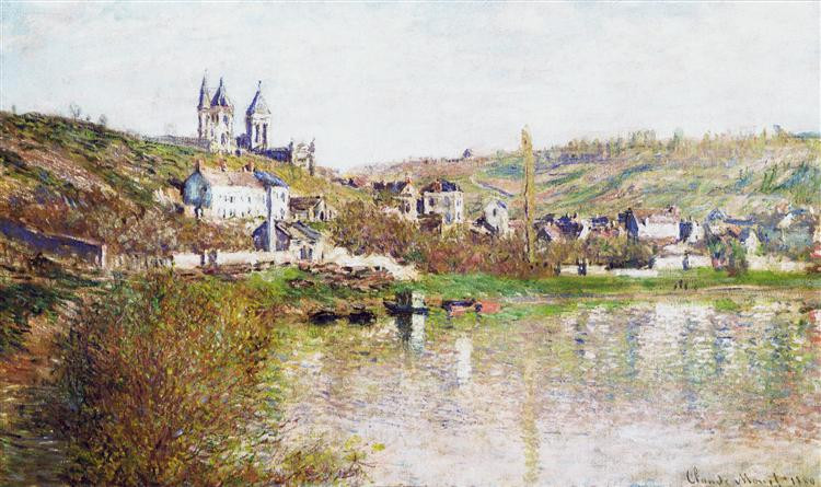 Monet. The hills of Vetheuil