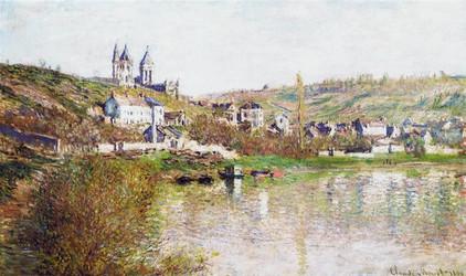 Monet. The hills of Vetheuil