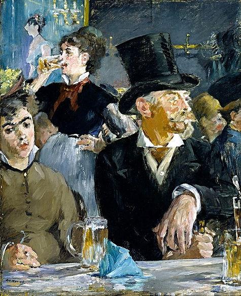 800px-Edouard_Manet_-_At_the_Café_-_Goog